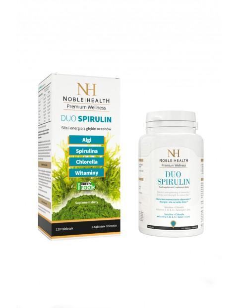 Duo Spirulin- siła i energia 120 tabletek
