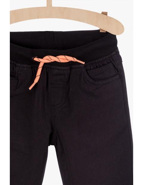 Spodnie dla chłopca- czarne