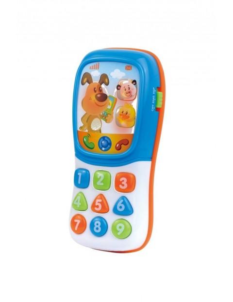 Telefon Zwierzątka- zabawka edukacyjna 12msc+