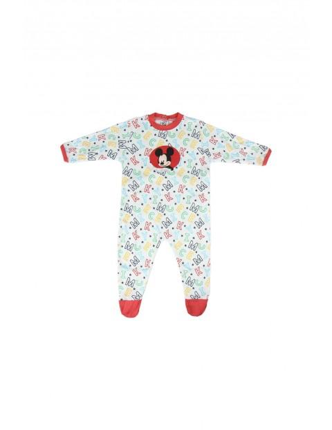 Pajac niemowlęcy Mickey- 100% Bawełna