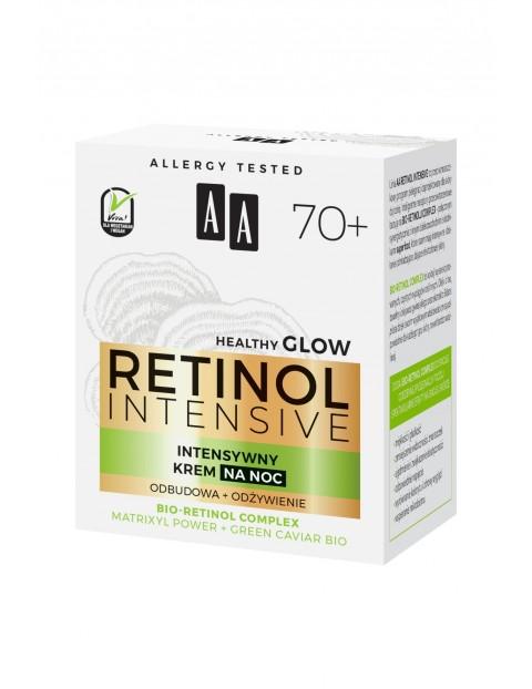 AA Retinol Intensive 70+ intensywny krem na noc odbudowa i odżywienie 50 ml