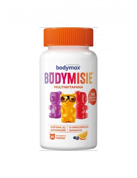 Multiwitamina o smaku owocowym Bodymax BODYMISIE 60 sztuk