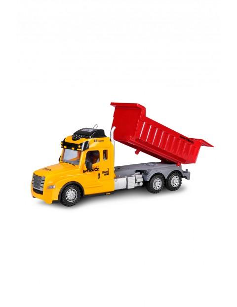 Auto ciężarowe zdalnie sterowanena wywrotka wiek 3+