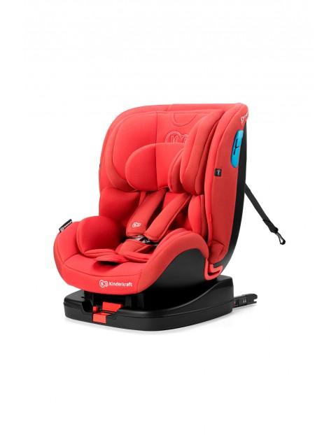Fotelik samochodowy dla dzieci Vado RWF 0-18 kg ISOFIX czerwony  0-25 kg