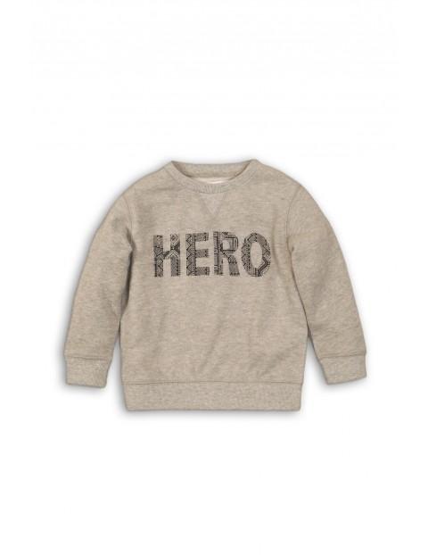 Bluza dresowa dla niemowlaka-szara Hero