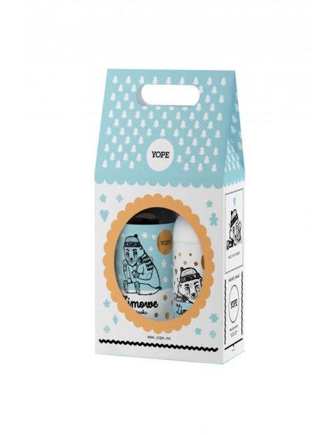 Zestaw kosmetyków Yope - mydło i balsam - Zimowe Ciasteczka