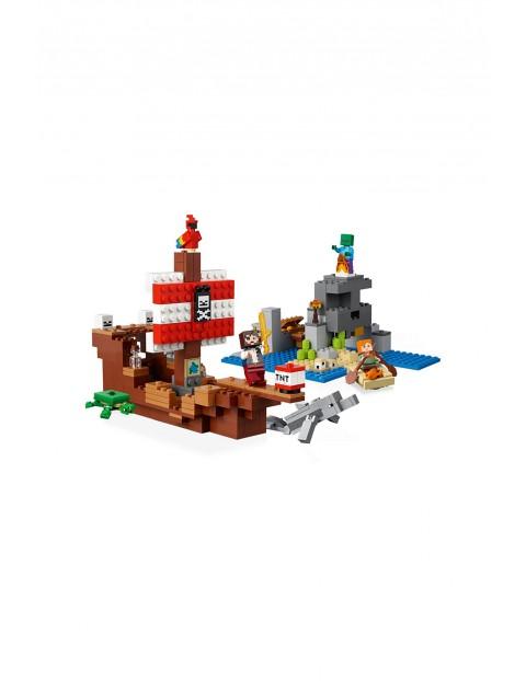 LEGO® Minecraft™ Przygoda na statku pirackim 21152 wiek 8+