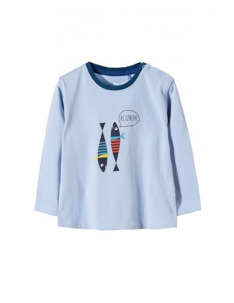 Bluzka niemowlęca długi rękaw 5H3412