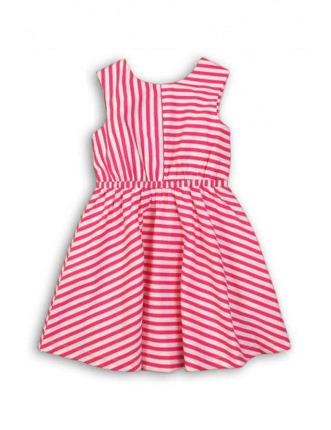 Sukienka dziewczęca w paski