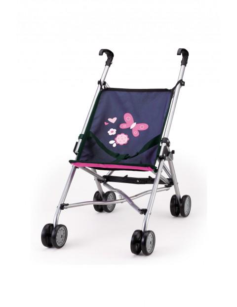 Wózek dla lalek Buggy - granatowy