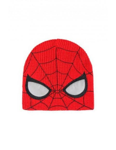 Czapka chłopięca  Spiderman - czerwona rozm 52/54