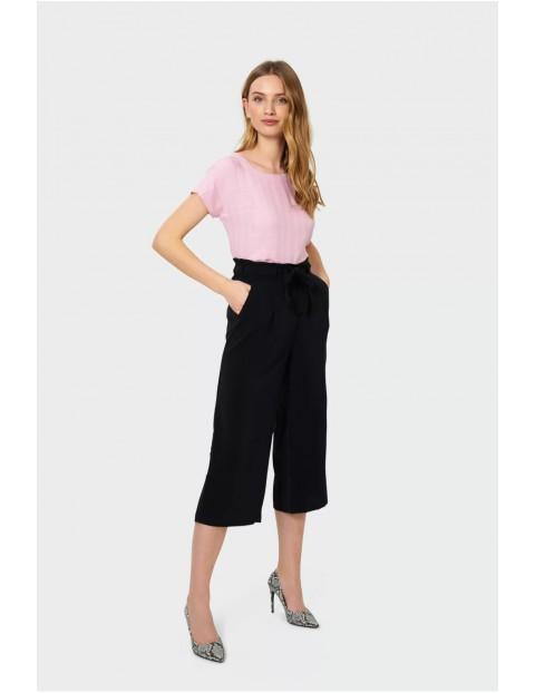 Wiskozowa bluzka różowa