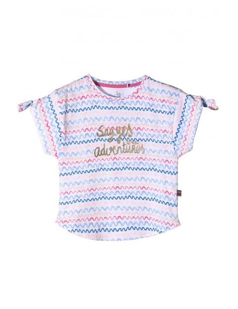 T-shirt dziewczęcy 4I3423