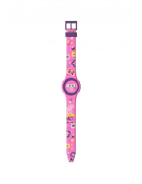 Zegarek cyfrowy dziecięcy - Świnka Peppa