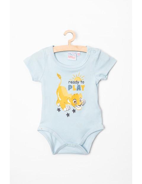 Body niemowlęce niebieskie Simba- 100% bawełna