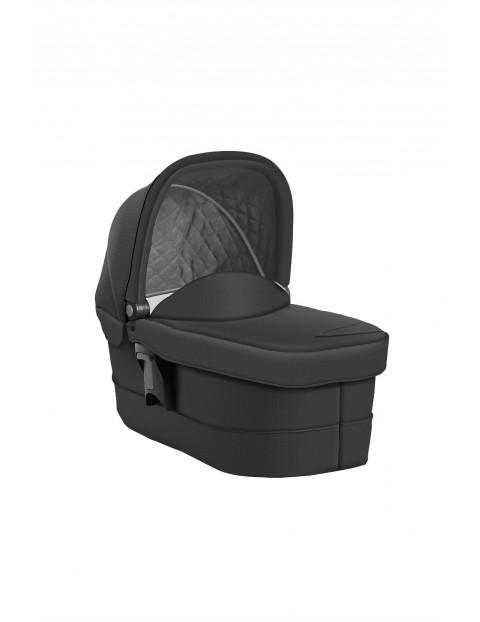 Gondola Graco Evo Luxury Black dla dziecka 0-10kg-szara