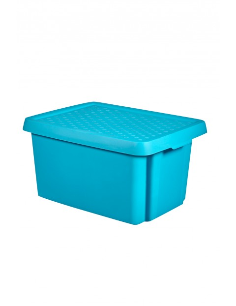 Pojemnik Essentials z pokrywką Curver 16L - niebieski