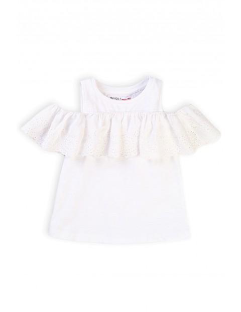 Bawełniana bluzka niemowlęca z rękawem Cold arms