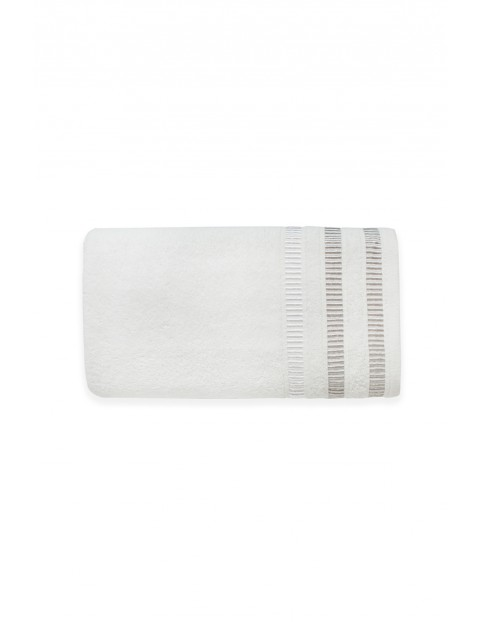 Ręcznik bawełniany SAGITTA - biały 50X90cm