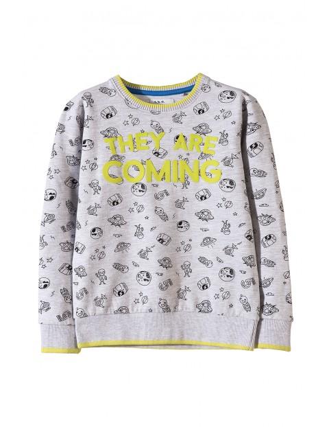 Bluza dresowa chłopięca 1F3401