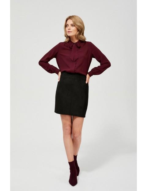 Czarna spódnica damska ołówkowa mini