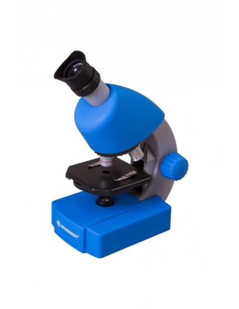 Mikroskop Bresser Junior 40x-640x niebieski 6+