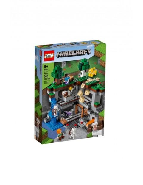 LEGO Minecraft  - Pierwsza przygoda - 542 el wiek 8+