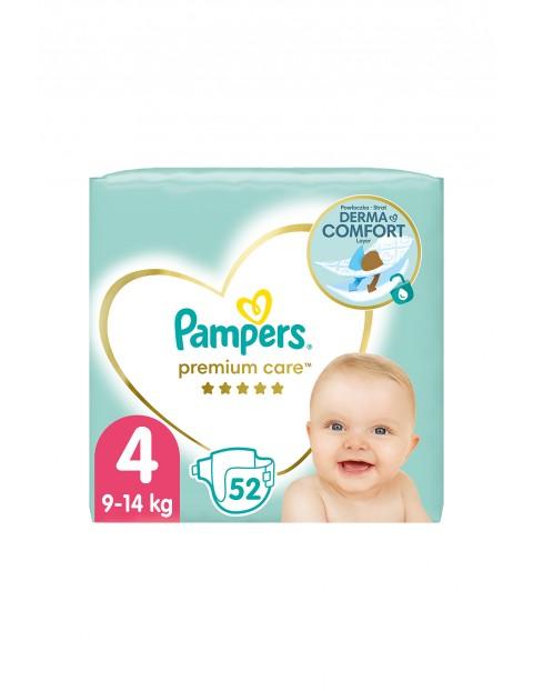 Pampers Premium Care rozmiar 4, 52 pieluszki 9-14kg