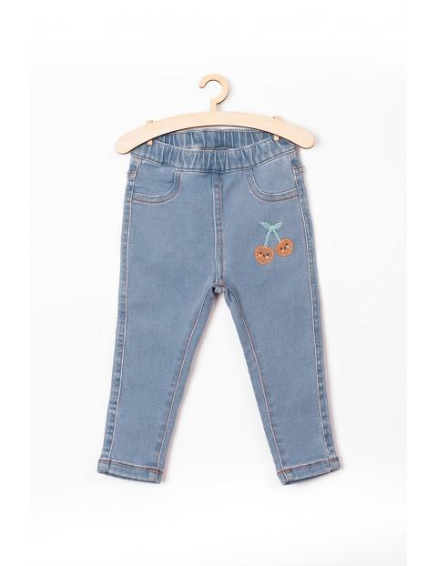 Spodnie niemowlęce- niebieskie