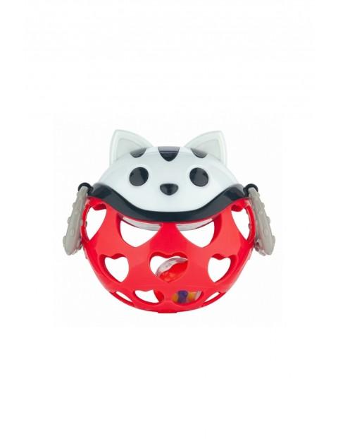 """Interaktywna zabawka z grzechotką """"Kot Czerwony"""""""