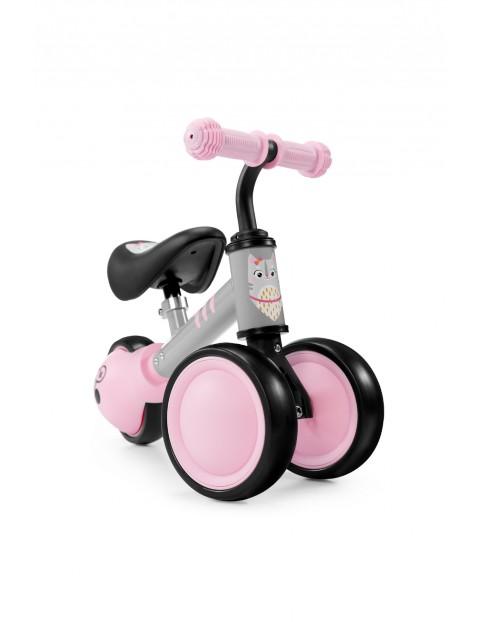 Mini rowerek biegowy CUTIE Kinderkraft różowy 12msc+