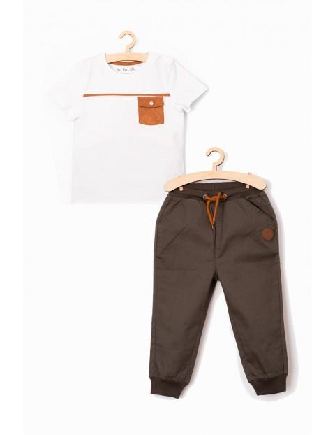 Komplet niemowlęcy - tshirt i spodenki