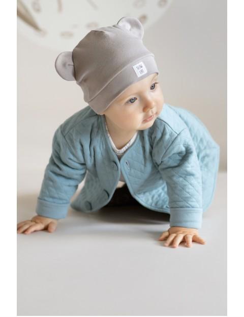 Bluza rozpinana niemowlęca SLOW LIFE niebieska