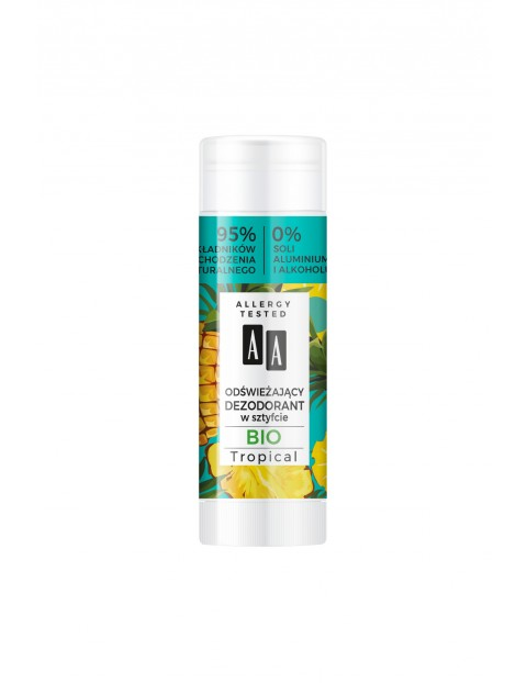 AA Super Fruits & Deo Stick Dezodorant ananas & szałwia 25 ml