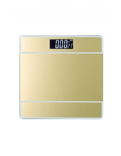 Waga łazienkowa elektryczna - złota