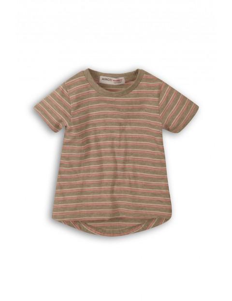 T-shirt niemowlęcy w paski