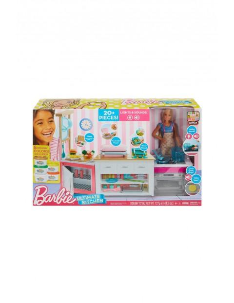 Barbie - lalka z zestawem Idealna kuchnia wiek 4+