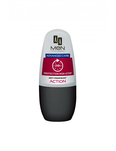 AA Men Advance Care antiperspirant w kulce Action 50 ml
