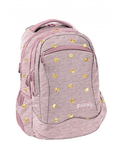 Plecak szkolny różowy dla dziewczynki