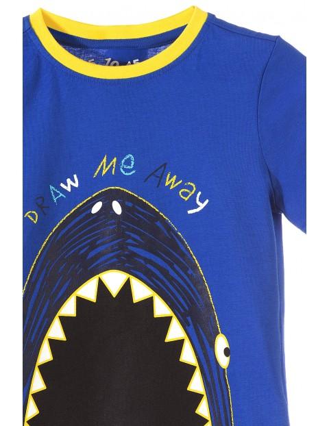 T-shirt dla chłopca z możliwością malowania kredą-kreda w zestawie