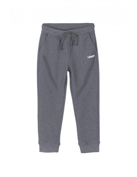 Spodnie dresowe chłopięce szare- Legend- ubrania dla całej rodziny