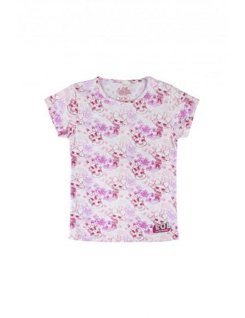 T-shirt dziewczęcy LOL Surprice różowy