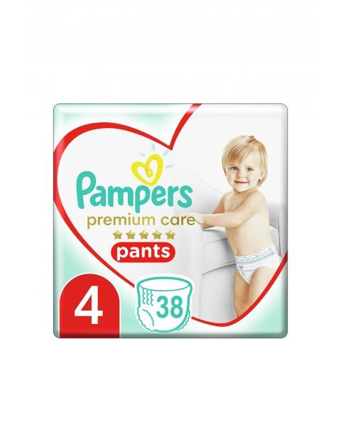 Pampers Premium Care Pieluchomajtki rozmiar4, 38szt. 9-15kg