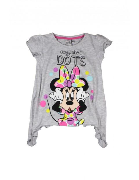 T-shirt dziewczęcy Myszka Minnie 3I34CQ