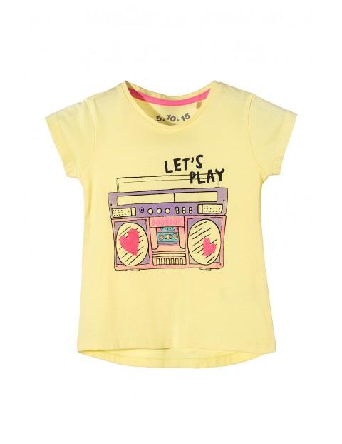 T-shirt dziewczęcy 3I3413