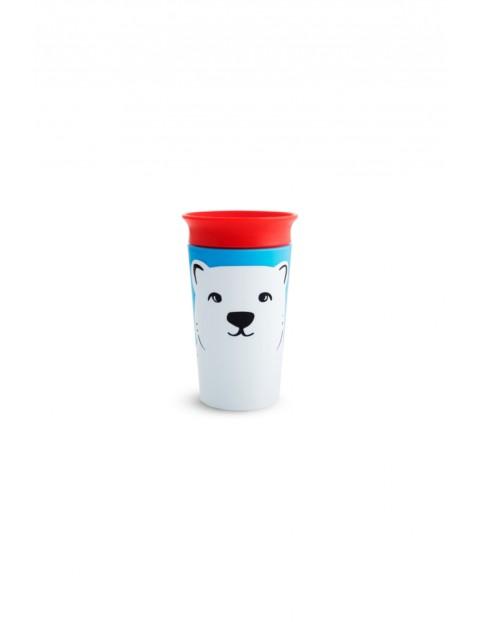 Kubek treningowy 360° Eco z niedźwiedziem polarnym, 266ml- 12msc+