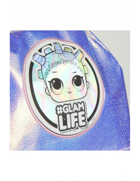 Plecak Fashion LOL Surprise- srebrny