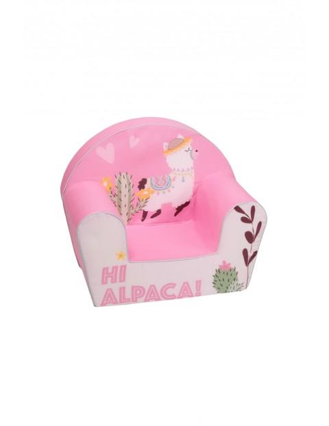 Fotelik piankowy dla dziewczynki Delsit Alpaka