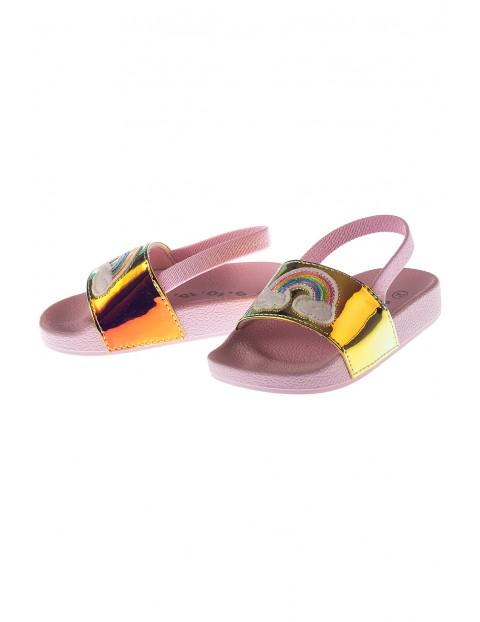 Sandały dla dziewczynki- różowe