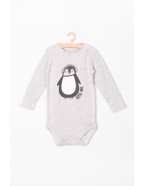 Body dziewczęce z pingwinem- przytul mnie